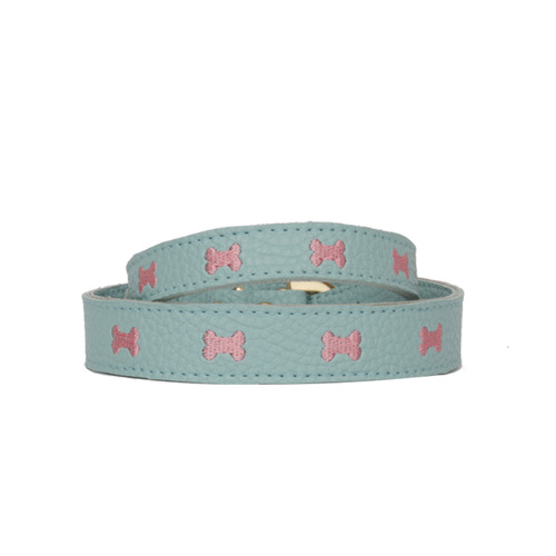 Blue Marshmallow Bone Collar