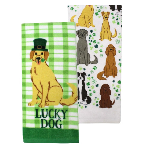 Lucky Dog Towel