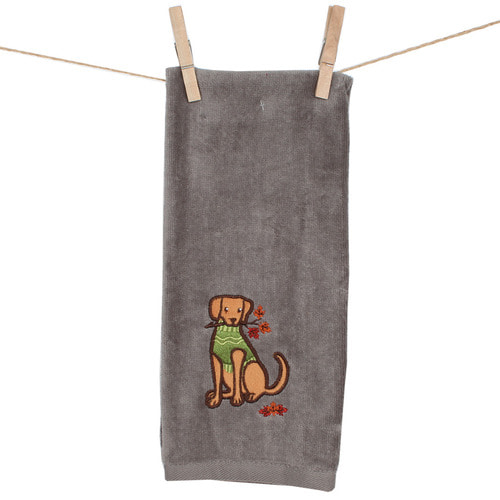 The Autumn Doggy Towel