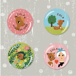 Bambi Badge Set