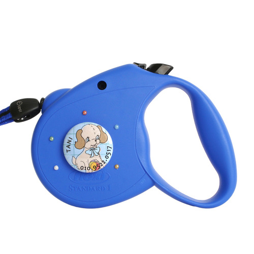 One & Only leash Vintage Blue