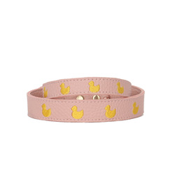 Pink Marshmallow Duck Collar